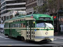 San Francisco Municipal Railway #1040 (vb5215's Transportation Gallery) Tags: muni san francisco municipal railway 1952 st louis car pcc