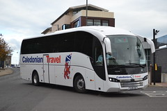 Caledonian Travel SJ16CUC (Will Swain) Tags: hamilton central bus station 6th october 2016 buses transport travel uk britain vehicle vehicles county country scotland scottish town centre caledonian sj16cuc