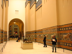 Processional street (Sparky the Neon Cat) Tags: europe germany deutschland berlin mitte museum island museumsinsel pergamon ishtar gate processional street babylon