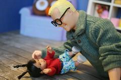 IMG_8143 (irinakopilova) Tags: mimi bobeck doll barbie mattel drew carey baby happy family rock hudson ken