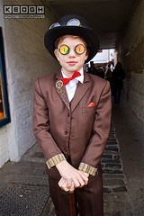 IMG_6426 (Neil Keogh Photography) Tags: 2016 black bowtie boy bronze brown cogs glasses goggles gold goth gothic jacket november november2016 pants red shirt steampunk tartan tophat waistcoat walkingcane walkingstick whitbygothweekend white