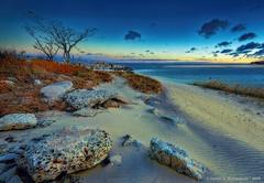 JM_AnotherWindyCrabMeadowDawn_11_22_16_45 (HarrySchue) Tags: crabmeadowbeach huntingtonny sunrise beach clouds water ocean sand nikon nature d800e