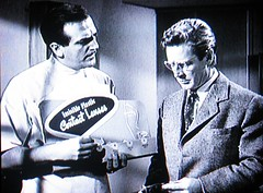 Early product placement 1259 (Tangled Bank) Tags: screenshot screen shot movie film cimena noir detective crime suspense tension richard basehart