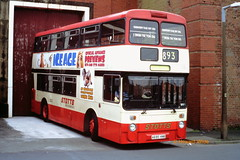 Stott, Oldham A695 HNB (SelmerOrSelnec) Tags: stott oldham leyland atlantean northerncounties a695hnb manchester cheetham boylestreet museumoftransport gmt bus
