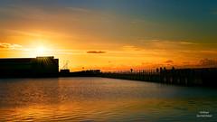 Beautiful Ending (Peeblespair) Tags: newbrighton sea coastal sunset quay vivid peeblespair peeblespairphotography wirral