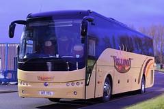 A17YEL (YJ13SMH)  Yelloway, Rochdale (highlandreiver) Tags: rochdale a17yel a17 yel yelloway coaches temsa bus coach brunton park carlisle cumbria