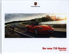Porsche 718 Boxster, Der neue - Mitten im Sport; 2016_1 (World Travel Library) Tags: porsche 718 boxster sport cabrio 2016 moving red car brochures sales literature germany deutschland auto worldcars world travel library center worldtravellib thecollection automobil papers prospekt catalogue katalog vehicle transport wheels makes models model automobile automotive motor motoring drive wagen photos photo photograph picture image collectible collectors ads fahrzeug german frontcover cars   ride go by automobiles documents dokument broschyr esite catlogo folheto folleto