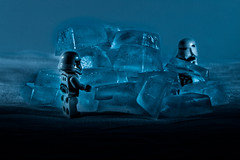 Project 52-33: Cold (albertobastos) Tags: cold freeze ice stormtrooper hoth blue low temperature