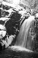 Waterfall (pelnit) Tags: snow ice water norway landscape norge is vann sn landskap nittedal pelnit