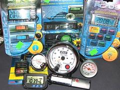 Termometry, zegarki, obrotomierze