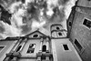 A Black Saturday (Shutter wide shut) Tags: bw church monochrome ir philippines canoneos20d manila infrared christianity catholicism intramuros canonefs1022mmf3545usm sanagustinchurch blacksaturday