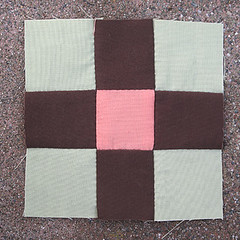 Tuesday, 4/10 (amyehodge) Tags: quilt squares quilting block ninepatch 9patch piecing handsewing handpiecing