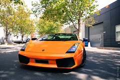 In Your Face (Tom | Fraser) Tags: orange white tom nice awesome wheels internet southyarra palmer parade sl future fraser arancio dsl adsl gallardo gsl borealis cremorne lambo lamborghinigallardo superleggera worldcars advancedaudio tom722 t0m722