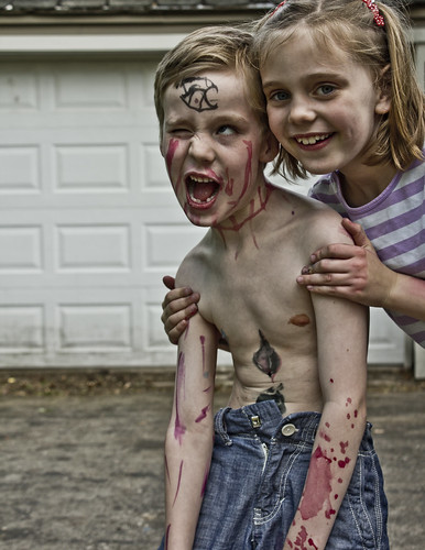 Iso turned her little brother into a zombie!