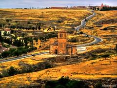 Iglesia de la Vera-Cruz de los Templarios en Segovia (ASpepeguti) Tags: españa spain segovia castillayleón olympusmju400 aspepeguti photomatixpro42 satorgettymomentos