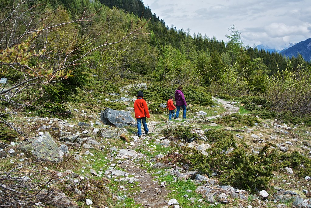 Hike along Dranse de Ferret