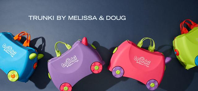 Amazon旗下MYHABIT优惠预告:Melissa & Doug儿童旅行箱专场促销活动