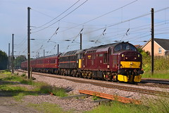 Flaming Heck (Feversham Media) Tags: york yorkshire tractors northyorkshire lochrannoch eastcoastmainline ecml class37 siphons dringhouses englishelectrictype3