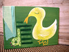 Duck painting collage (jessie b @ spunkidoodle) Tags: original green art yellow collage painting children duck little theletterd spunkidoodle