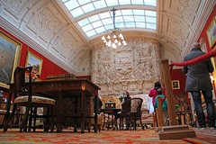 Drawing Room, Cragside, Northumberland (Geraldine Curtis) Tags: northumberland nationaltrust williammorris artsandcrafts cragside marbleroom