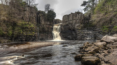 High Force (ca2cal) Tags: longexposure england rock stone river waterfall high long exposure force canon20d tripod hdr tees waterscape countydurham highforce teesdale canonef24105mmf4lisusm