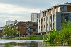 NTU Jubilee Campus - Nottingham (Daniel KG) Tags: nottingham canon campus university jubilee ntu jubileecampus