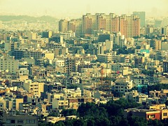 North Tehran under construction (Germn Vogel) Tags: building skyline asia iran middleeast tehran darband density dense islamicrepublic westasia densities gettyimagesmiddleeast