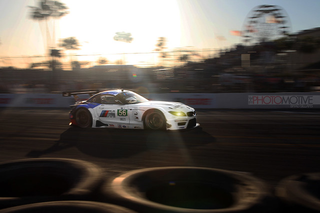 sunset beach brad long grand prix mans le american toyota bmw z4 coupe alms rll gte 2013 lbgp sillars photomotive thephotomotivecom