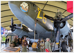 Douglas C47 Dakota (Aerofossile2012) Tags: museum muse normandie normandy dday dakota c47 utahbeach saintemreeglise