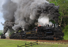 Cass Scenic Railroad (Images by DBC) Tags: railroad west train virginia scenic steam shay locomotive cass