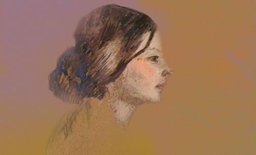 "Las Madeleines escuchando la soleada soledad, descripciones de Henri de Toulouse Lautrec (1889) y Pablo Picasso (1904). • <a style=""font-size:0.8em;"" href=""http://www.flickr.com/photos/30735181@N00/8805126123/"" target=""_blank"">View on Flickr</a>"