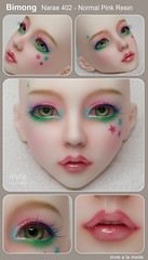 Bimong - Narae - Normal Pink Skin (Invie Aesthetics) Tags: ns 14 bjd commission msd faceup narae bimong