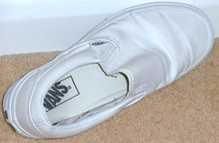 WORN SHOES/TRAINERS (stevsoll) Tags: shoes sneakers trainers worn vans plimsolls daps plimsoles