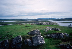 Fjords, Callanish, Isle of Lewis (1996) (Duncan+Gladys) Tags: uk scotland callanish rossandcromarty