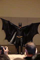 Batman (Merle Tsuki) Tags: cosplay batman darkknight justiceleague brucewayne cosplayfashionshow phxcc2013