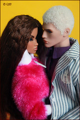 Robert & Colette (astramaore) Tags: blue white male love beauty fashion angel toy lost model glamour doll blueeyes longhair tan style romance relationship blond lukas chic cheekbones lovestory affair royalty strategy colette tanned relations wavyhair fulllips loveaffair thickhair violeteyes fashionroyalty thickwavyhair