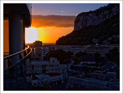 Gibraltar (Ben.Allison36) Tags: ocean street building rock sunrise village fort olympus lane empire british gibraltar queensway overseas territory rockofgibraltar e450