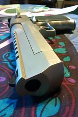 Kahr Arms Desert Eagle Mark XIX (Ascendaeus) Tags: gun desert eagle rifle research nickel satin handgun 50 ae magnum handcannon notlegalincalifornia