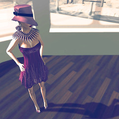 .Pretty in Pink. (Saleena Hax) Tags: summer vacation beauty fashion cherry mesh style mandala glam casual earrings chic cleo jewels vova bangles elegance gatsby hax redgrave silkhat creatrix accesoires miamai saleena creativefashion moreastyle glamaffair zibska