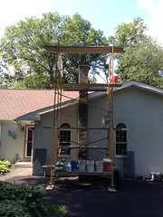 """Chimney Build/Scratch Coat • <a style=""""font-size:0.8em;"""" href=""""http://www.flickr.com/photos/76001284@N06/9086668759/"""" target=""""_blank"""">View on Flickr</a>"""