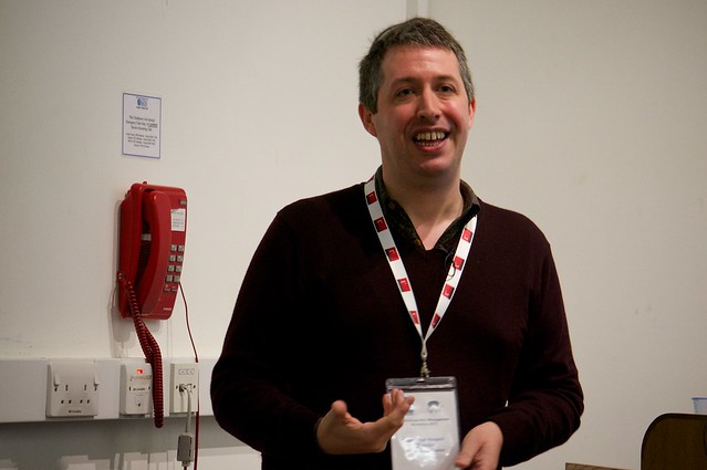 Jonathan Hassell at IWMW 13