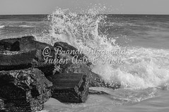 BrandiFitzgerald.LidoBeach034 (brandifitzarts) Tags: newyork beach waves scene longbeach shore eastcoast beachscene sandwriting lidobeach newyorkbeach brandifitzgerald sayingsinsand