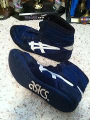 Asics reflexes (RockinRyan32) Tags: blue shoes asics reflexes westling