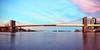 The Brooklyn Bridge on July 7, 2013 (mudpig) Tags: nyc newyorkcity longexposure pink panorama cloud reflection skyline brooklyn sunrise geotagged mirror downtown cityscape manhattan pano dumbo calm financialdistrict southstreetseaport brooklynbridge eastriver gothamist hdr mudpig stevekelley