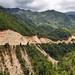 Bella strada verso Totonicapan