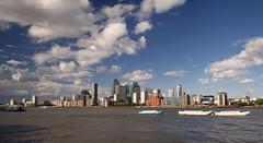 Canary Wharf... (Lady Haddon) Tags: london canarywharf riverthames
