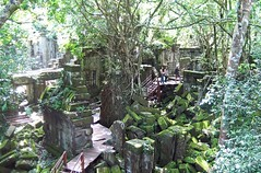 Beng Mealea temple, Angkor (rustyproof) Tags: temple cambodia khmer buddhist central buddhism siem reap beng angkor wat hindu hinduism bung bengmealea mealea