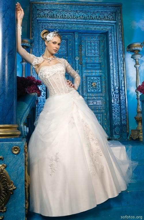 Vestidos de noiva com bolero