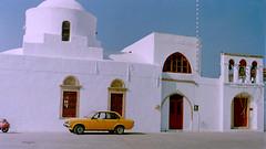 Patmos Church. (1989) (Francesc Carreras) Tags: film church 35mm greece grecia 1989 analogic patmos dodecanese aegeansea patmosisland