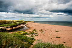 St Combs (RiserDog) Tags: beach scotland day aberdeenshire cloudy northsea stcombs saintcombs